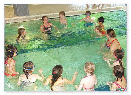 Kinder-Schwimmgruppe Schwimmschule Beluga