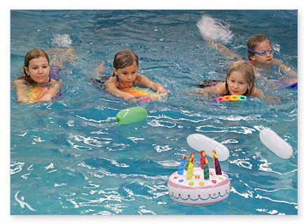 Poolparty für Kinder