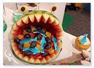 Kinderbuffet Seeungeheuer