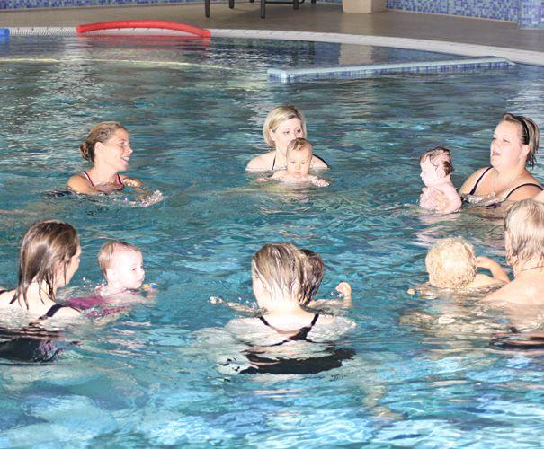 Babyschwimmen Gruppe